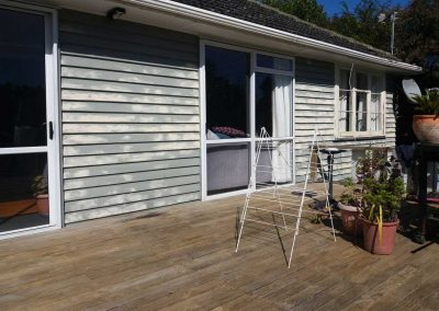 Preparing-for-a-repaint-on-swanson-house---BJA-Painting-Services